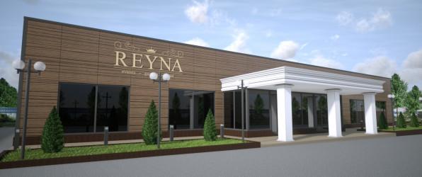 Proiect salon de evenimente Reyna Events